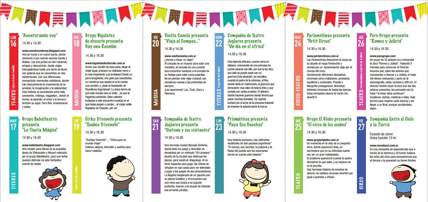 17 07 2012 festival de vacaciones de invierno ate senasa for Horario oficina paro