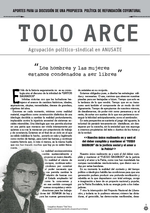 TOLO ARCE
